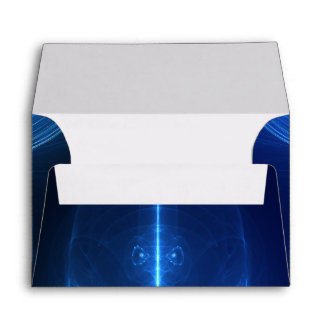 Abstract Blue Light Wave Envelope