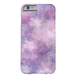 Abstract Blue, Lilac, Pink Acrylic Painting Barely There iPhone 6 Case