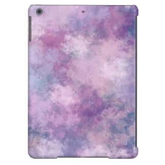 Abstract Blue, Lilac, Pink Acrylic Painting Cover For iPad Air