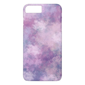 Abstract Blue, Lilac, Pink Acrylic Painting iPhone 7 Plus Case