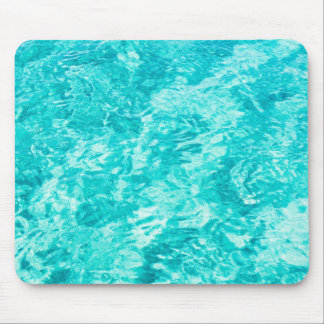 Abstract blue mouse pad