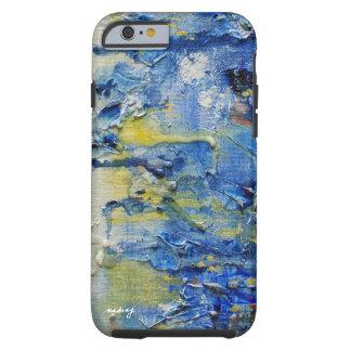 Abstract Blue Ocean Art Phone Case Tough iPhone 6 Case