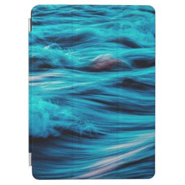 Abstract Blue Ocean Waves   iPad Air Case