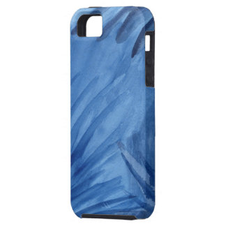 Abstract Blue Paint Strokes iPhone SE/5/5s Case