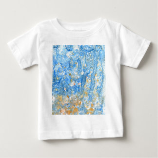 Abstract blue painting baby T-Shirt