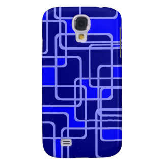 Abstract Blue Pipeline Pattern Iphone case
