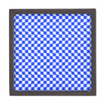 Abstract Blue Premium Gift Boxes