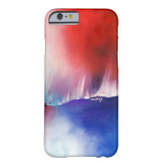 Abstract Blue Red Phone Case iPhone 5 Cover