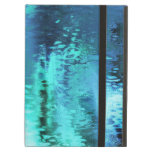 Abstract blue reflection iPad cases