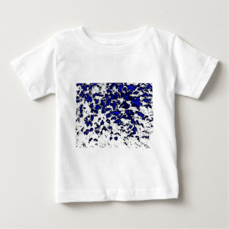Abstract Blue Spots Baby T-Shirt