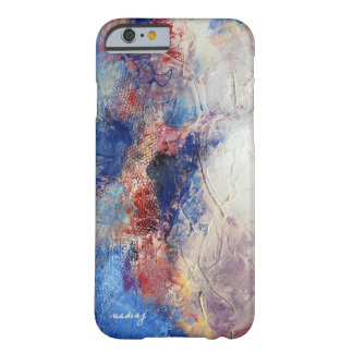 Abstract Blue Textured Phone Case iPhone 5 Cases