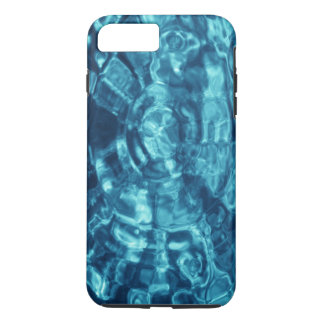Abstract Blue Water Ripples iPhone 7 Plus Case