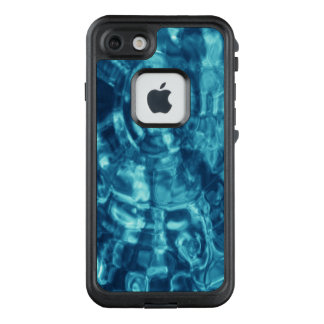 Abstract Blue Water Ripples LifeProof FRĒ iPhone 7 Case