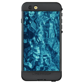 Abstract Blue Water Ripples LifeProof NÜÜD iPhone 6s Plus Case