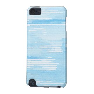 Abstract blue watercolor background, texture. iPod touch 5G cover