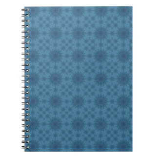 Abstract blue wood note books