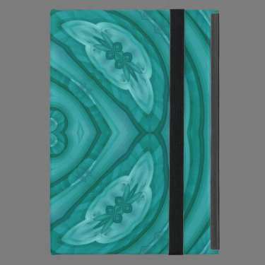 Abstract Blue Wood Pattern Case For iPad Mini