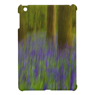 Abstract Bluebell Woods iPad Mini Cover