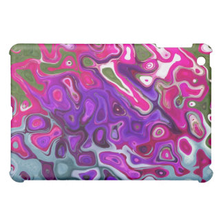 Abstract Blueberry Swirl for  iPad Mini Cases