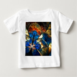 abstract blues and gold baby T-Shirt