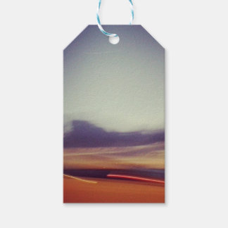 Abstract Blur Customizable Gift Tags