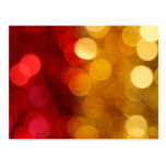 Abstract Blurred Background Post Card