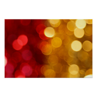 Abstract Blurred Background Poster