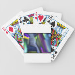 Abstract Blurring Poker Deck
