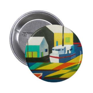 abstract boat 2 pin