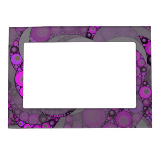 Abstract Bold Color Magnetic Frame