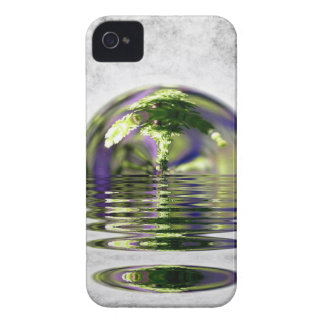 Abstract Bonsai Globe iPhone 4 Cover