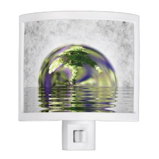 Abstract Bonsai Globe Night Lights