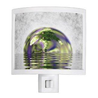 Abstract Bonsai Globe Night Lights