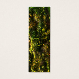 Abstract Bookmark Mini Business Card