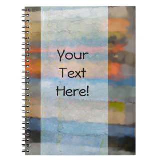 Abstract Books Spiral Notebook