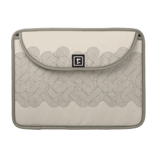Abstract border sleeve for MacBook pro