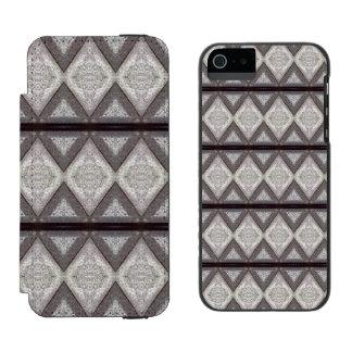 Abstract boring pattern incipio watson™ iPhone 5 wallet case