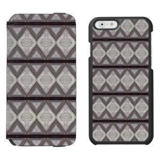 Abstract boring pattern incipio watson™ iPhone 6 wallet case