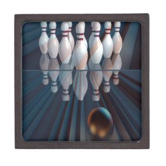 Abstract Bowling Keepsake Box