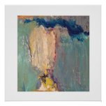Abstract boy poster