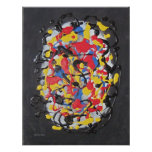 Abstract Brain by Laurie Mitchell Print
