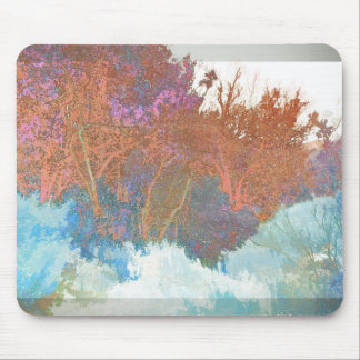 Abstract Branches Mouse Pad