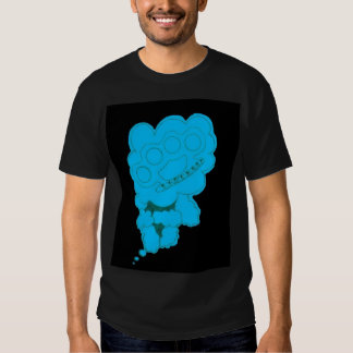 Abstract- brass knuckles tshirt