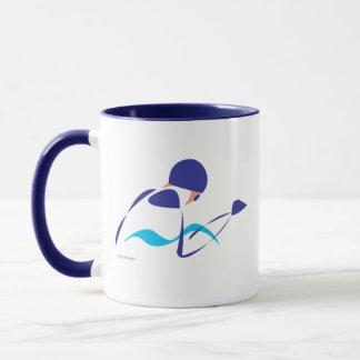 Abstract Breaststroke 1 Mug