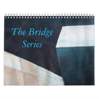 "Abstract ""Bridge Series"" Acrylic Paintings Calendar"