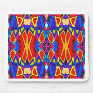 Abstract Bright Glaze Mouse Pad