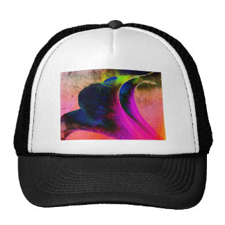 Abstract Bright Mesh Hat
