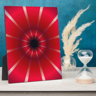 Abstract Bright Pattern Plaque