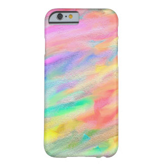 Abstract Bright Rough Color Barely There iPhone 6 Case