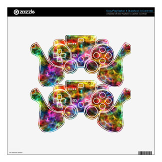 Abstract Brilliance Decal For PS3 Controller